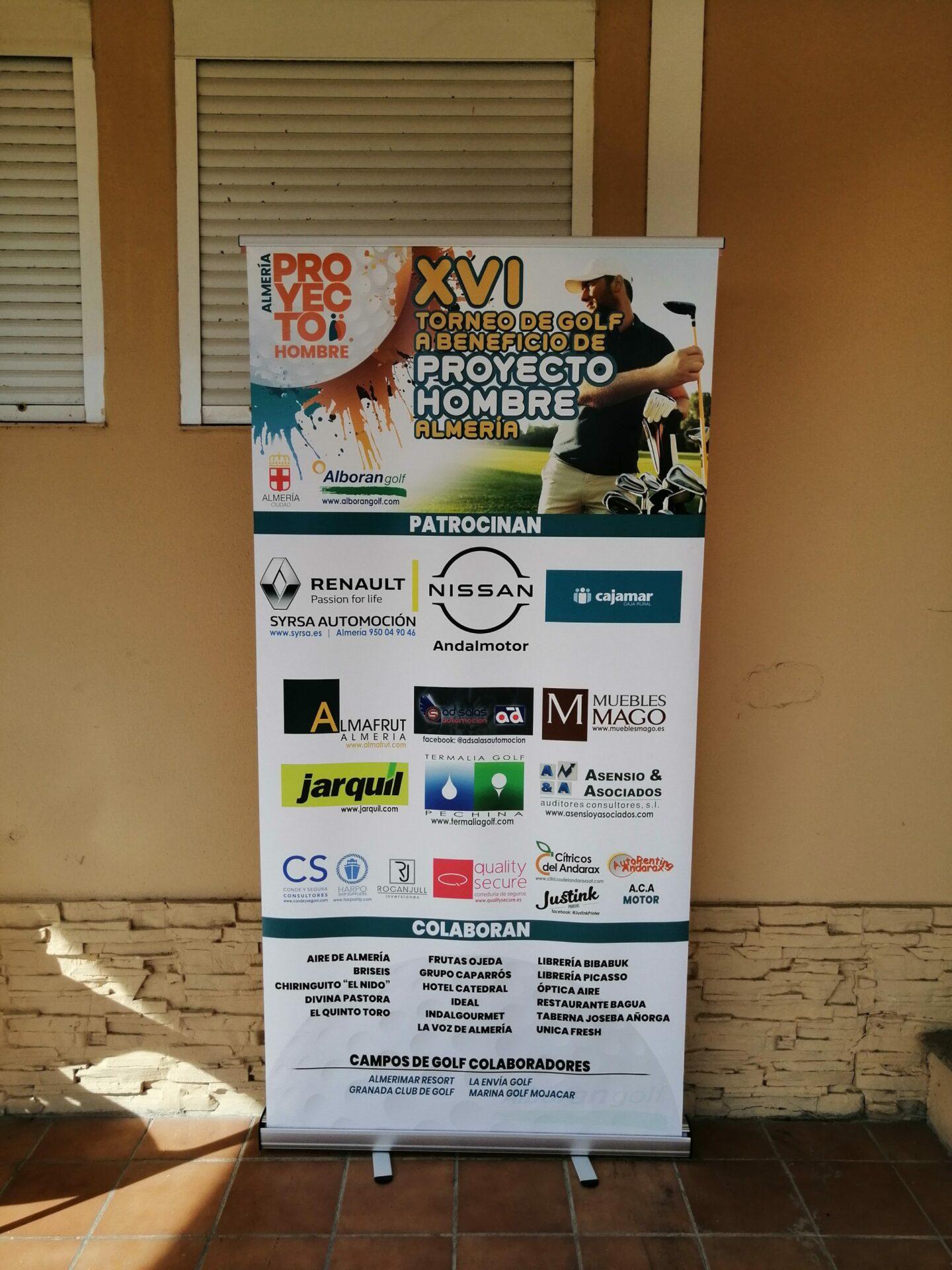 Torneo golf proyecto hombre almería